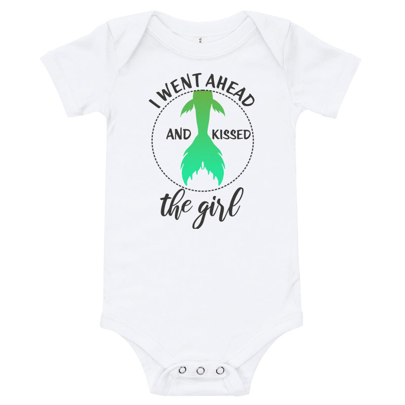 Kissed The Girl - Baby Bodysuit - Ambrie