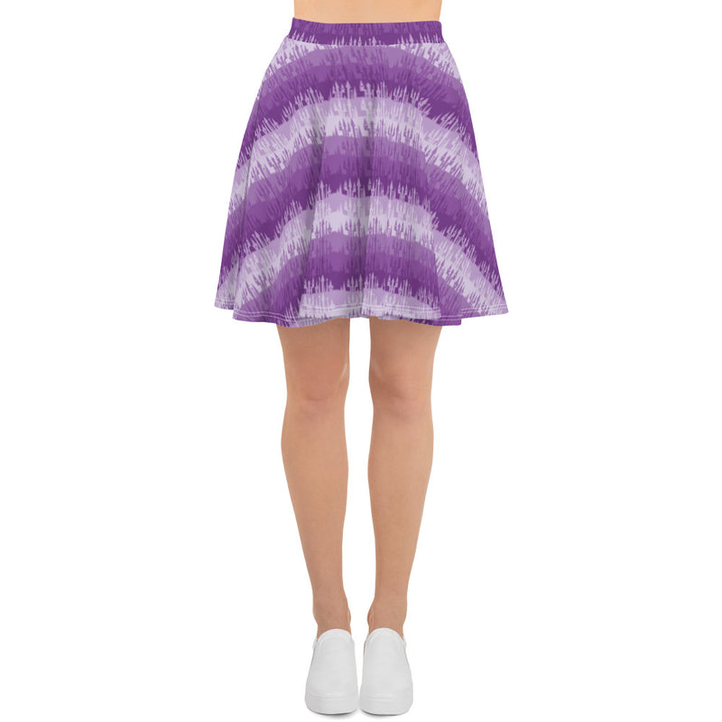 Purple Castles Skirt - Ambrie