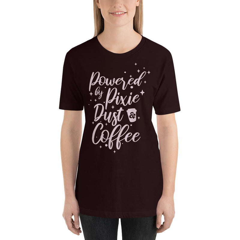 Pixie Dust And Coffee - Women's Short Sleeve Shirt - Ambrie
