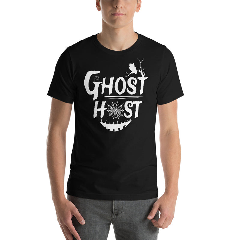 Ghost Host - Men's Short Sleeve Shirt - Ambrie