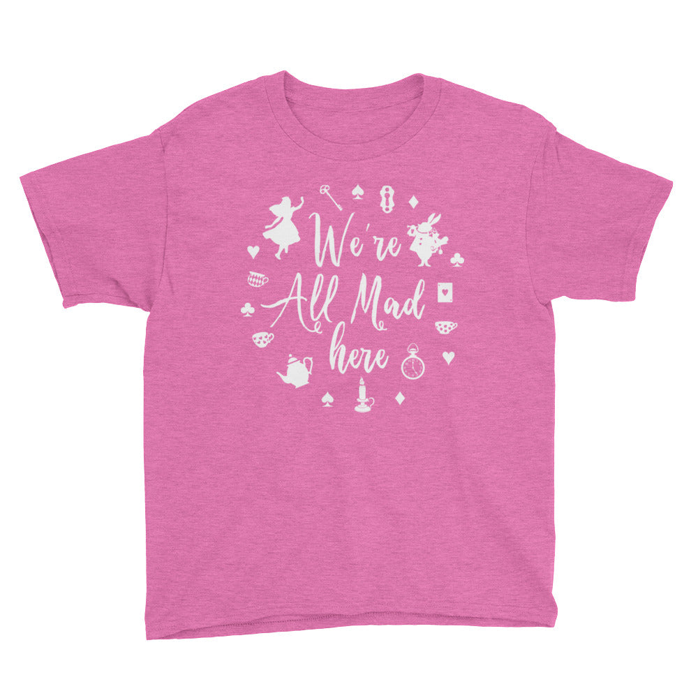 We're All Mad Here - Kids Shirt - Ambrie