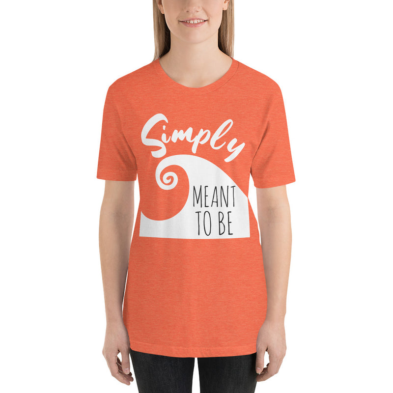 Simply Meant To Be - Women's Short Sleeve Shirt - Ambrie