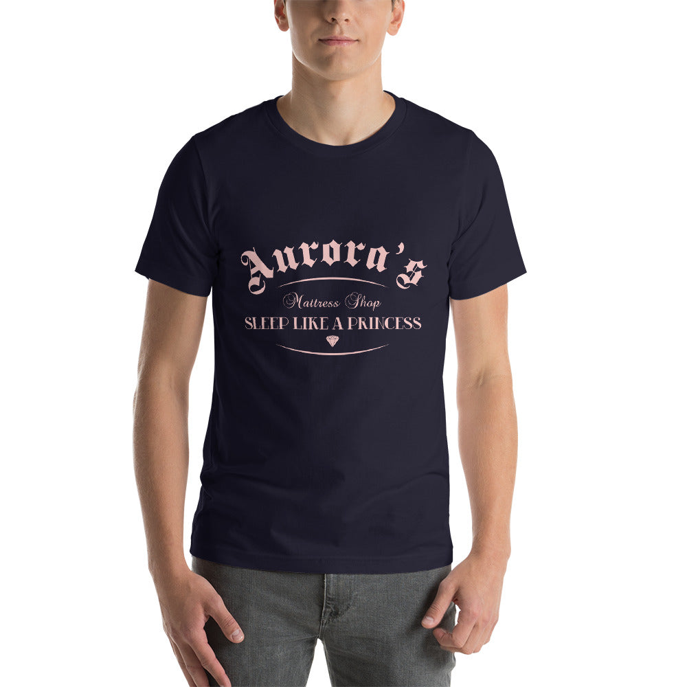 Aurora's Mattress Shop - Men's Short Sleeve Shirt