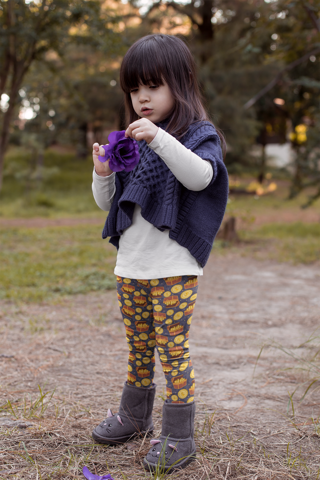 Dead Man's Gold Leggings - Kids - Ambrie