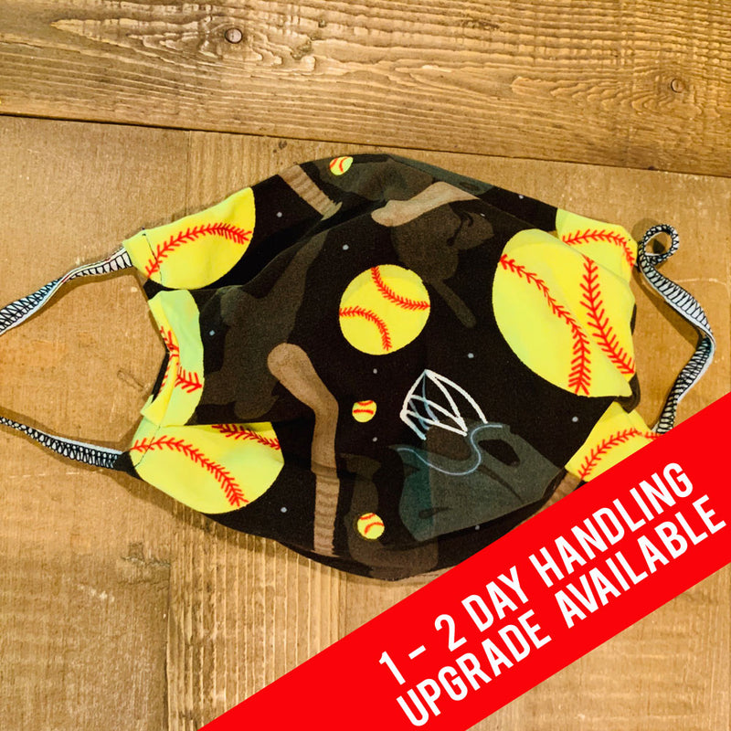 Softball Legging Material Face Mask - Ambrie