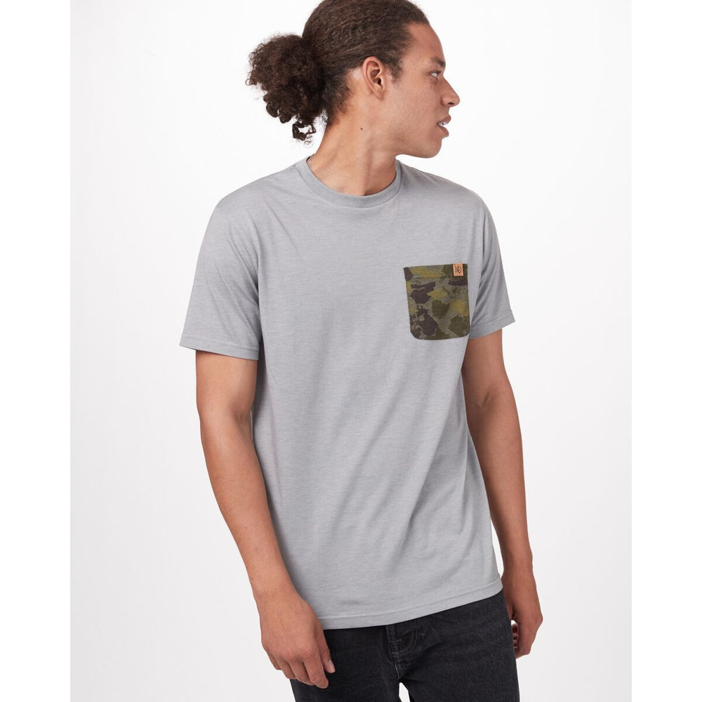 TenTree M Camo Pocket SS Tee
