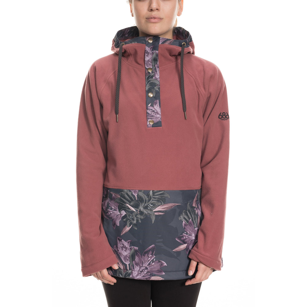 686 W Hera Anorak Fleece
