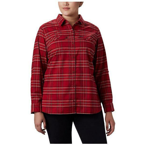 Columbia Silver Ridge Long Sleeve W Flannel