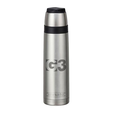 G3 Logo Cha Vacuum Bottle