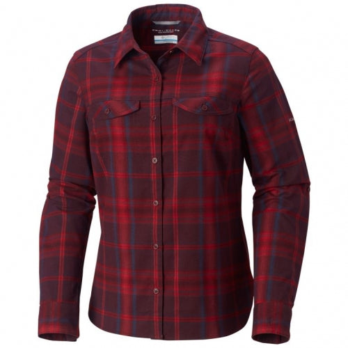 Columbia W Silver Ridge Long Sleeve Flannel