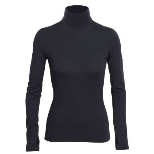 Icebreaker W Vertex LS Turtleneck Shirt