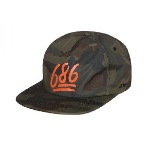 686 Escape 5 Panel Snapback Hat