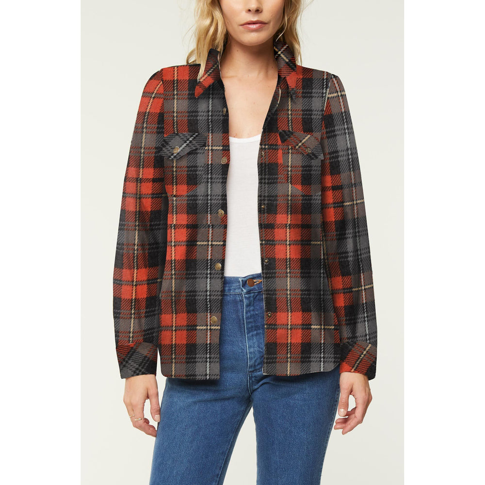 O Neill Zuma Plaid W Superfleece