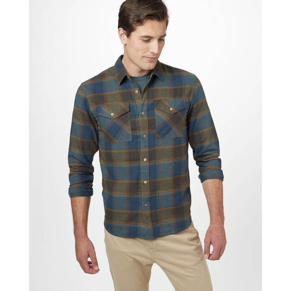 TenTree M Bowren Button Up LS