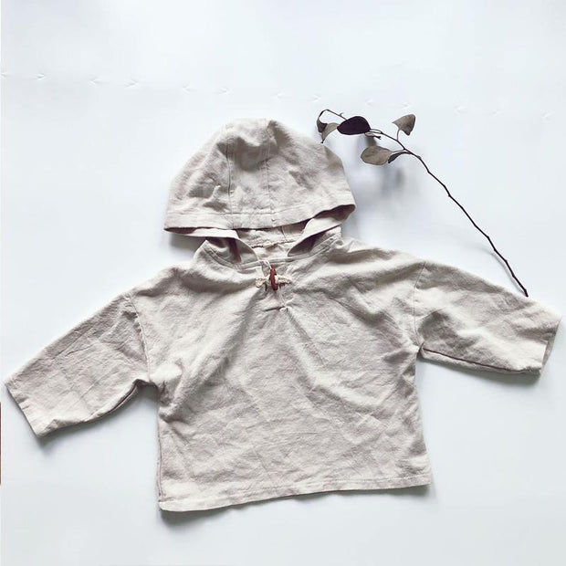 By the Trees Linen/Cotton Pullover