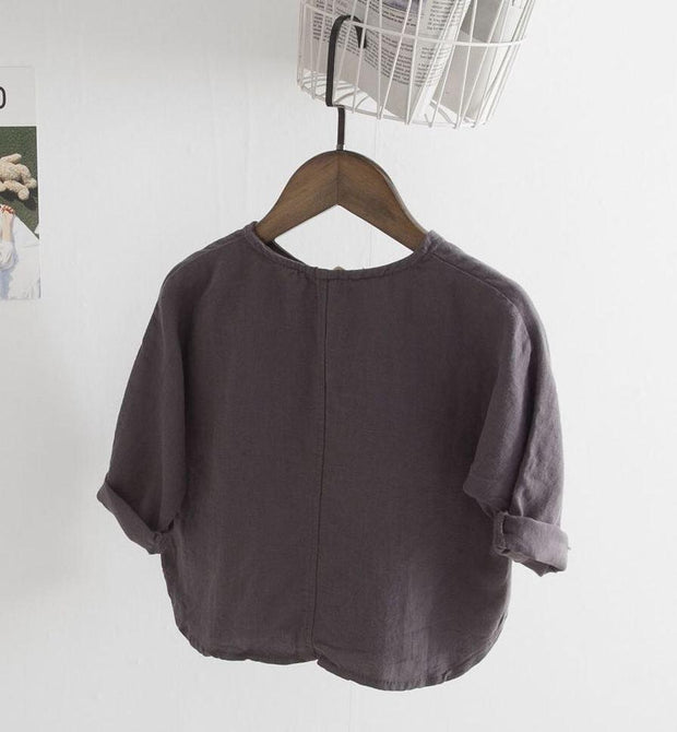 Holiday Mode Loose Shirt - Linen/ Cotton