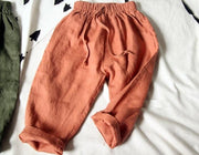 Easy Does It Pants - Linen/Cotton Blend