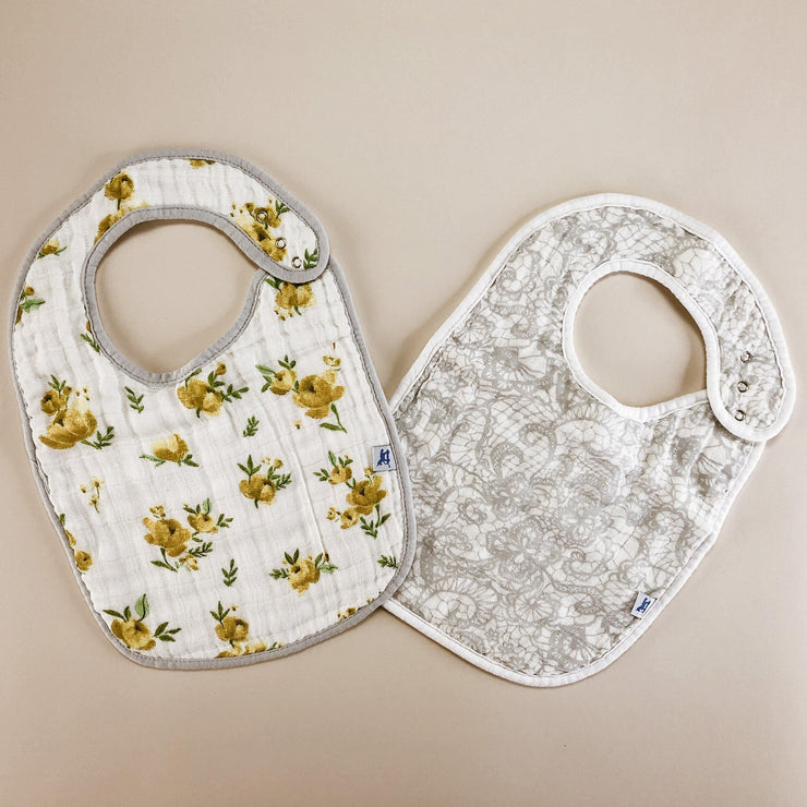 100% Cotton Muslin Bib