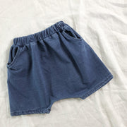 Classic Denim Shorts - Cotton Chambray