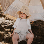 My Favourite Summer Overalls - 100% Textured Cotton
