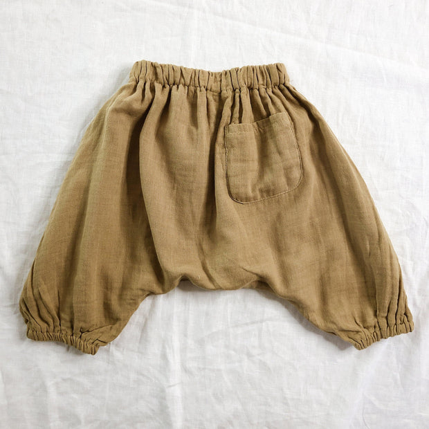 Little Hippy Harem 3/4 Pants - 100% Cotton
