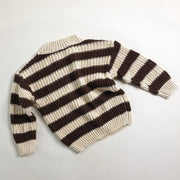 Speckle Stripe Knit Jumper
