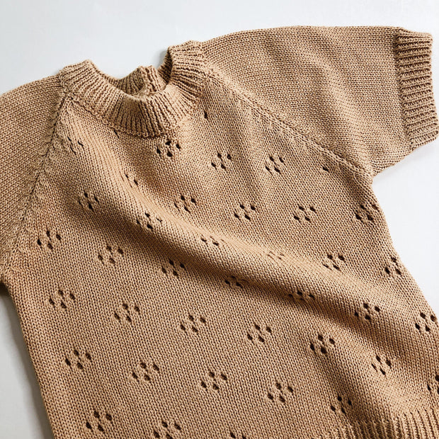 Pointelle Knitted Top