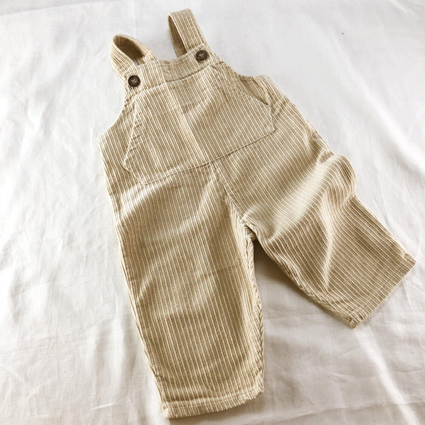 Classic Chunky Corduroy Pocket Overalls