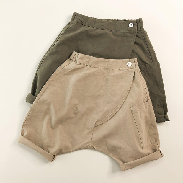 Harem Boy Linen/Cotton Shorts