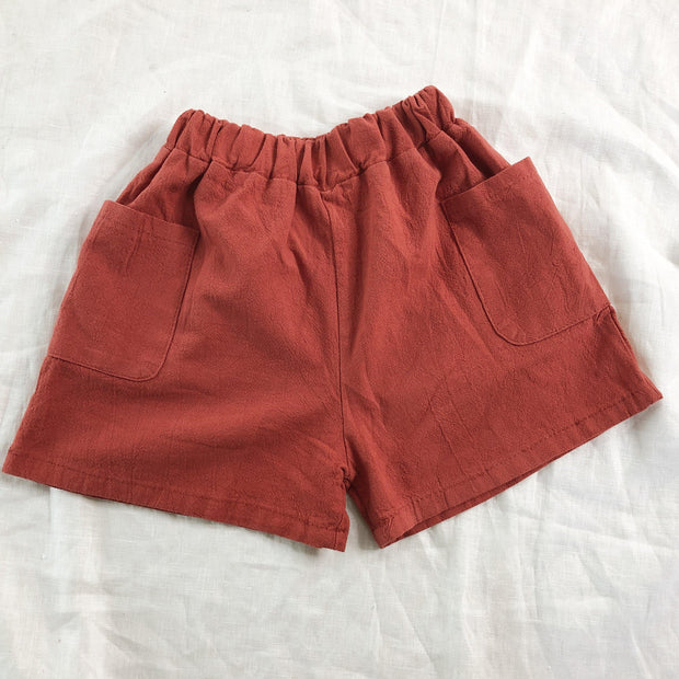 Summer Holiday Shorts - Linen/Cotton
