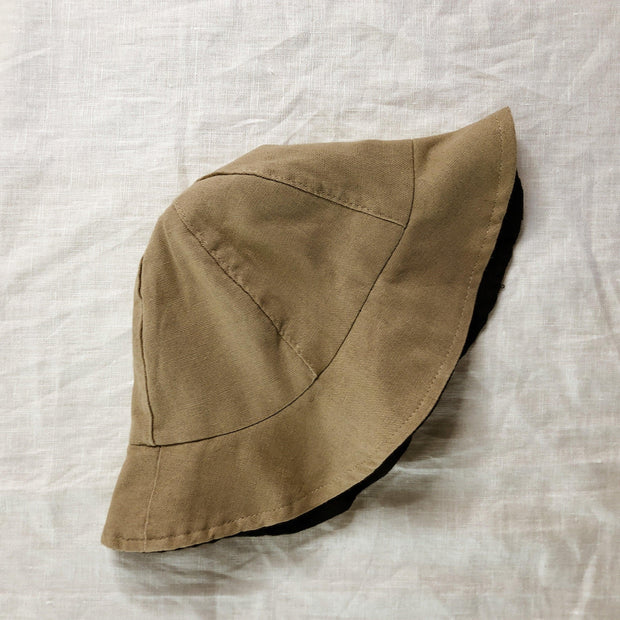Here Comes The Sun Reversible Hat - Linen/Cotton Blend
