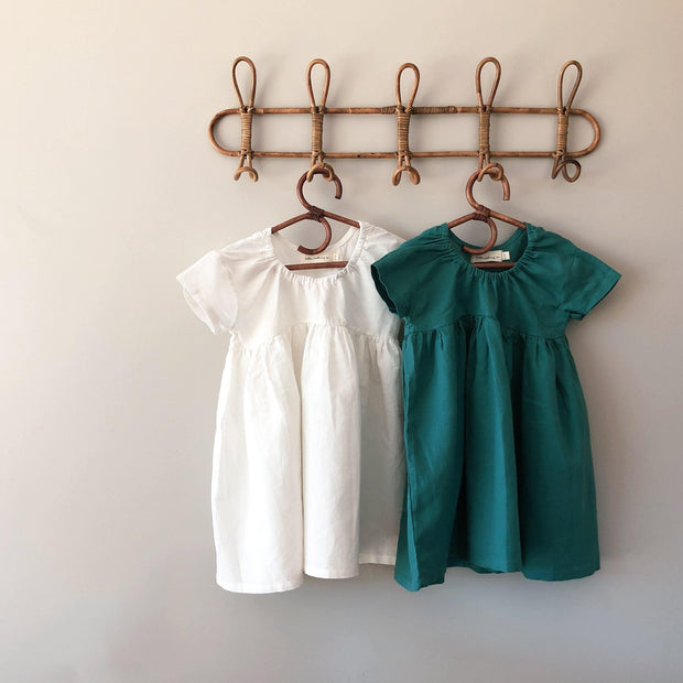 Just a Girl Dress - Linen/Cotton