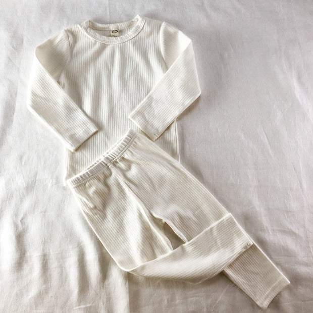 Simplicity Range - Soft Rib Cotton Lounge Set
