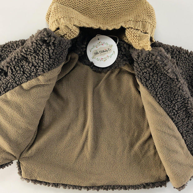 Marlo Teddy Bear Jacket