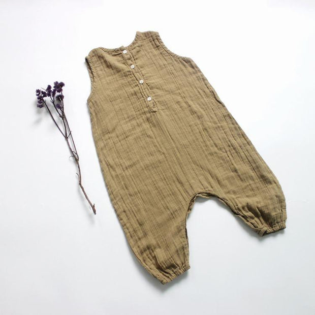 Summer Trails Linen/Cotton Jumpsuit