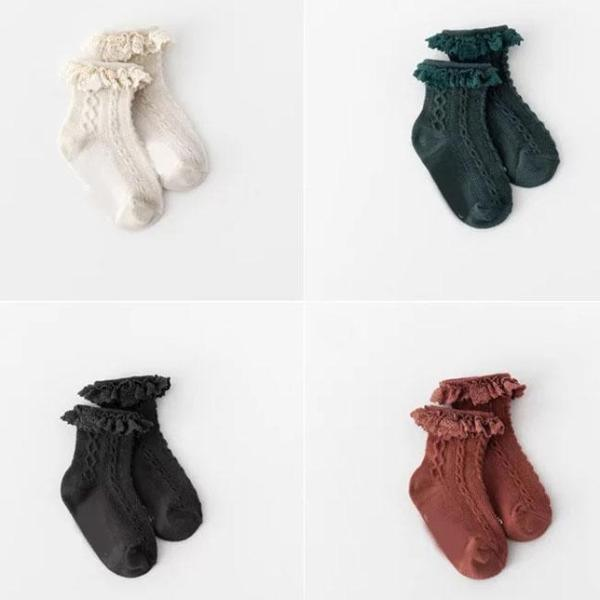 Little Frill Lace Ankle Socks