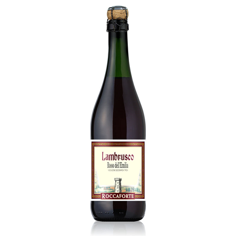 Lambrusco Roccaforte Rosso NV Sweet Red Sparkling