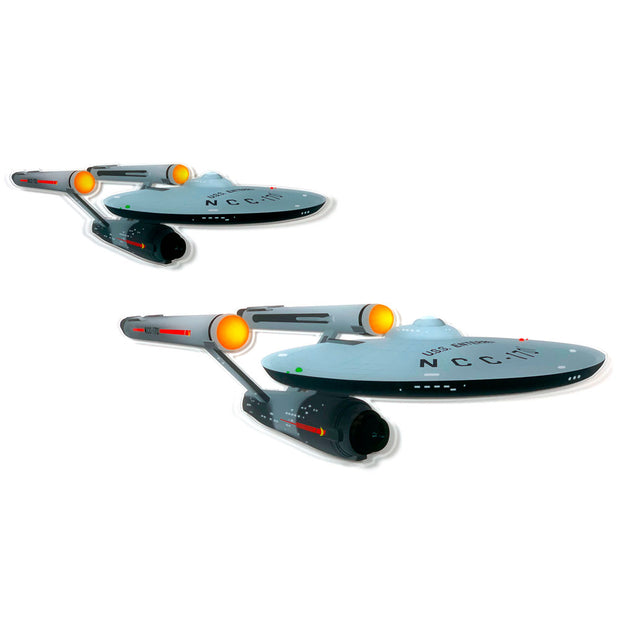 Star Trek: The Original Series U.S.S. Enterprise Acrylic Wall Art