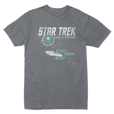 Star Trek: The Original Series Out of This World Short Sleeve T-Shirt