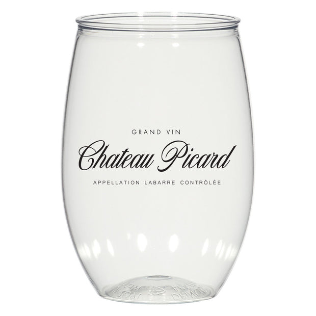 Star Trek: Picard Chateau Picard Acrylic Wine Glass Set of 2