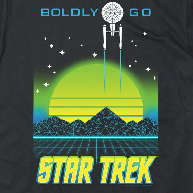 Star Trek: The Original Series Boldly Go Electro Short Sleeve T-Shirt