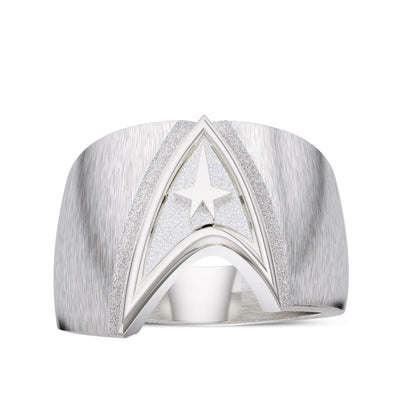 Star Trek Logo Men's Ring