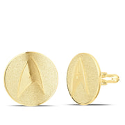 Star Trek Circle Logo Cuff Links