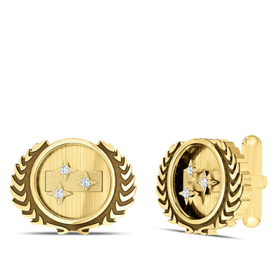 Star Trek Federation Logo Cuff Links
