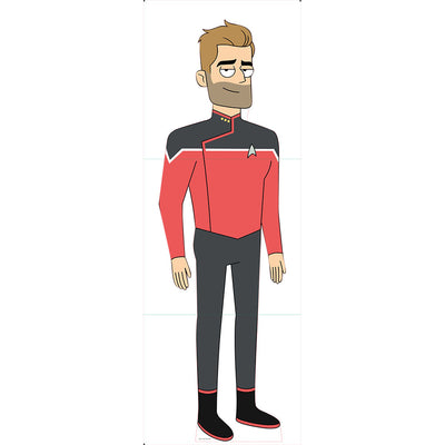 Star Trek: Lower Decks Jack Ransom Standee