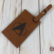 Star Trek: The Next Generation Leather Luggage Tag