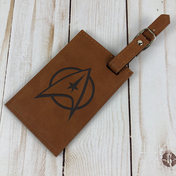 Star Trek: The Original Series Leather Luggage Tag