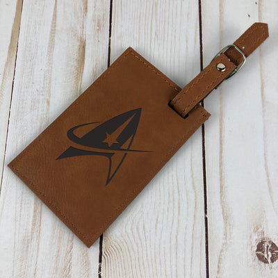 Star Trek: Discovery Leather Luggage Tag