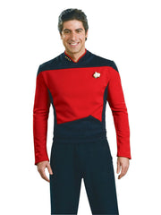 Star Trek: The Next Generation Deluxe Red Shirt Command Uniform