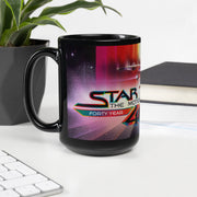 Star Trek: The Motion Picture 40th Anniversary U.S.S. Enterprise Black Mug